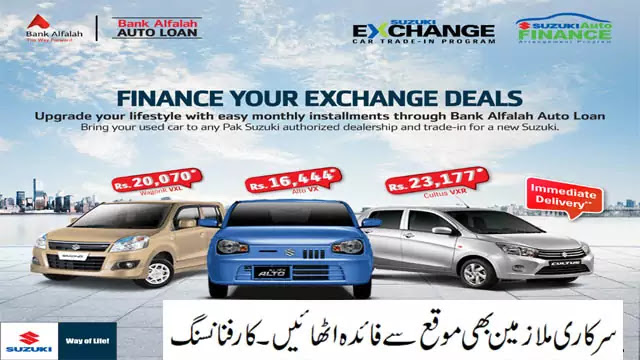 Bank Alfalah Car Loan