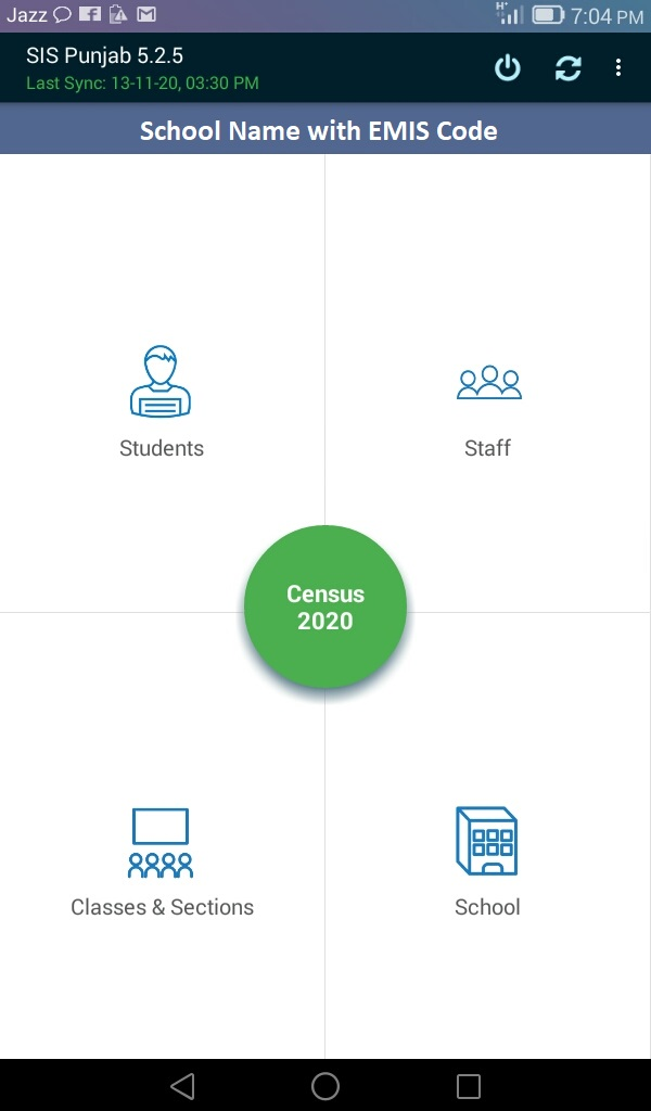 School Census Form 2020