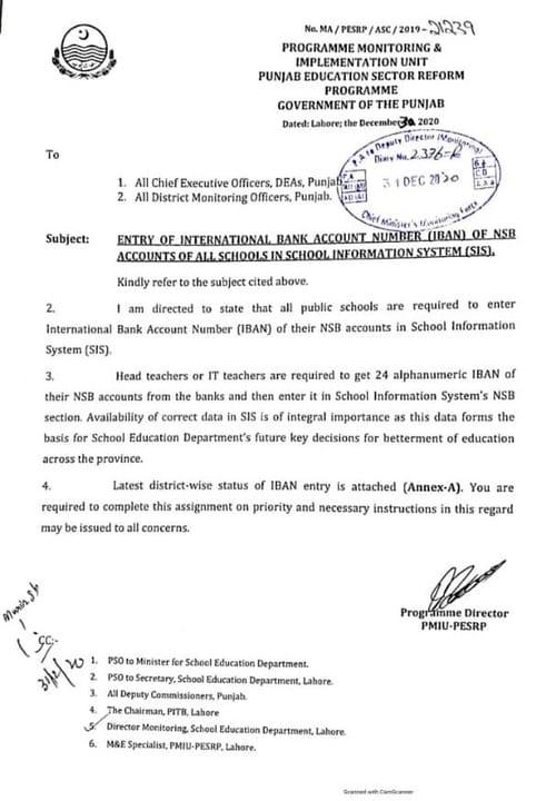 SIS App NSB Accounts
