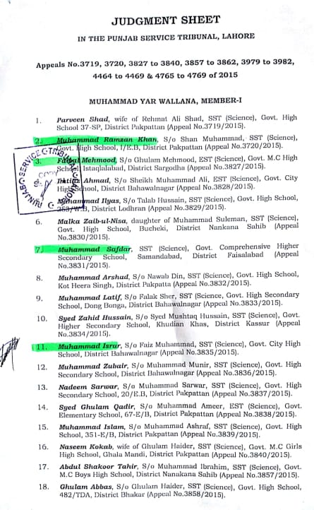 SED Punjab Education Department