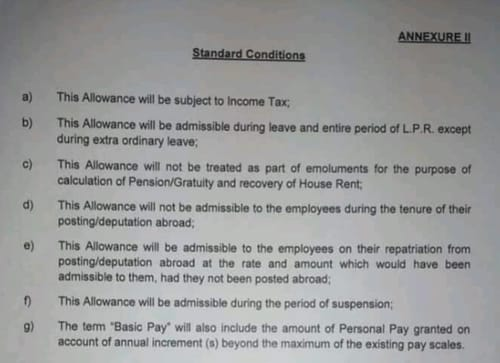 Terms and Conditions of 25% allowances