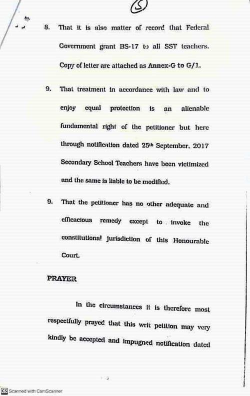 The Highest Court Order